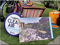 SJ8498 : I Support Clean Air - Everywhere by David Dixon
