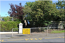 NS2107 : Lane to Maidens Primary School by Billy McCrorie