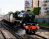TQ3266 : Approaching East Croydon by Peter Trimming