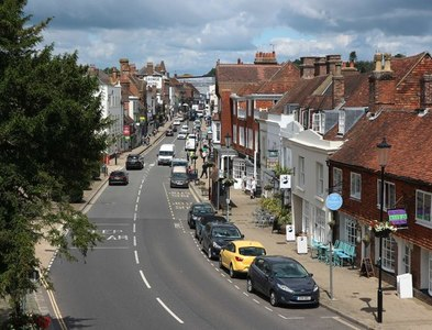 TQ7415 : High Street, Battle by Oast House Archive
