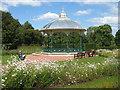 NT2271 : Saughton Park Bandstand, Edinburgh by M J Richardson