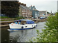 SX9291 : Exeter Ship Canal cruise by Chris Allen