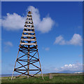 SD2062 : Mast on Hare Hill by Ian Taylor