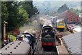 SP0532 : Trains at Toddington by Chris Allen