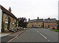 TL0873 : Station Road, Catworth by Roger Cornfoot