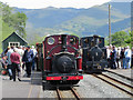 SH5941 : Prince and No. 303 at Pont Croesor by Gareth James