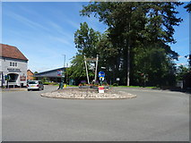 SP0764 : Roundabout on the A435, Studley by JThomas