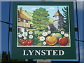 TQ9461 : The village sign for Lynsted by Marathon
