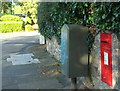 SX9164 : Postbox and drop box, Thurlow Road by Derek Harper