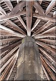 SK8608 : The roof of the Oakham Buttercross by Mat Fascione
