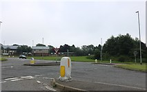 TA1201 : Complex junction on Grimsby Road, Caistor by David Howard