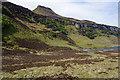 NG5839 : Loch a' Chadha-chàrnaich & Dun Caan by Ian Taylor
