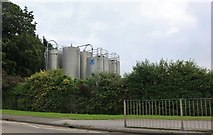 TF1089 : Storage tanks at RPC Containers, Market Rasen by David Howard