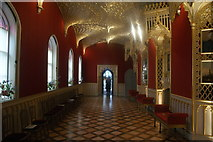 TQ1572 : View along the entertainment room in Strawberry Hill House by Robert Lamb