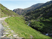 SH6251 : On the Watkin Path in Cwm Llan by Gareth James