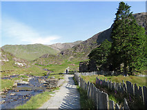 SH6252 : On the Watkin Path beside Plascwmllan by Gareth James