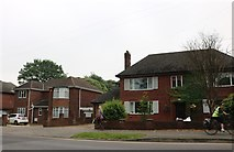 SK9872 : Houses on Wragby Road, Lincoln by David Howard