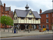 SP7387 : Old Grammar School, Market Harborough by Robin Webster