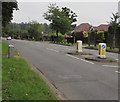 ST2887 : Pedestrian refuge in Risca Road, Newport by Jaggery