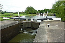 SP1876 : Knowle Middle Lock south-east of Solihull by Roger  Kidd