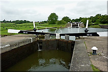 SP1876 : Lock No 48 near Knowle south-east of Solihull by Roger  Kidd