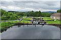 NS5669 : Maryhill Locks by Anne Burgess