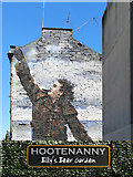 NS5864 : Sir Billy Connolly mural at Hootenanny, Glasgow by Julian Paren
