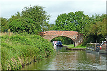 SP1974 : Black Boy Bridge south of Knowle, Solihull by Roger  Kidd