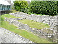 TR3141 : Remains of St Martin-le-Grande Church by John Baker