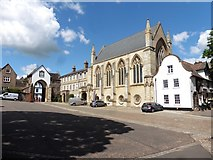 TG2308 : The Cathedral Close, Norwich by Roger Cornfoot