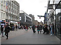 NS5965 : Argyle Street, Glasgow by M J Richardson