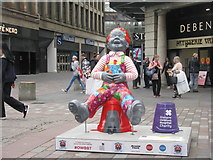NS5965 : Oor Wullie's Big Bucket Trail by M J Richardson