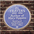 TQ2778 : English Heritage Blue Plaque by Peter Trimming