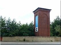 NS5664 : Hydraulic Accumulator Tower, Govan by Alan Murray-Rust