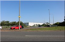 SP8937 : Roundabout on Standing Way, Milton Keynes by David Howard