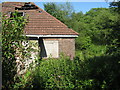 NS5972 : Derelict cottage on Balmuidy Road by M J Richardson