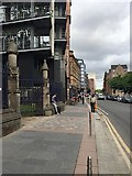 NS5965 : Gates to the Ramshorn Graveyard, Ingram Street, Glasgow by Robin Stott