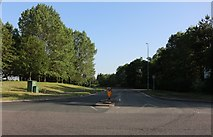 SP8891 : Earlstrees Road at the junction of Gretton Brook Road, Corby by David Howard
