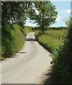 SS7029 : Lane to South Leigh Cross by Derek Harper