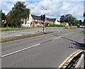 ST3091 : Malpas Road traffic lights, Newport by Jaggery