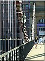 NS5864 : South Portland Street Suspension Footbridge – detail by Alan Murray-Rust