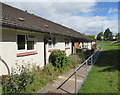 ST3091 : Row of bungalows below Malpas Road, Newport by Jaggery