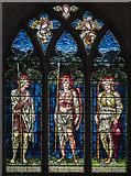 TG2308 : North transept window, Norwich Cathedral by Julian P Guffogg