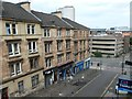 NS5866 : Hill Street, Garnethill, looking east by Christine Johnstone