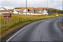HU3467 : Northbound A970 near Brae by David Dixon