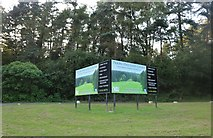 SP9491 : Sign for Priors Hall golf course by David Howard
