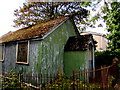 SO2914 : Derelict former place of worship,  Cae Pen y Dre, Abergavenny by Jaggery
