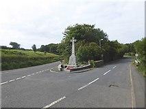 NX0054 : Portpatrick War Memorial by Oliver Dixon
