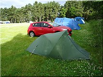 NT6226 : Camping at Lilliardsedge Holiday Park by Philip Halling