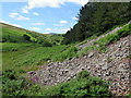 NT9525 : Scree on lower slopes of Watch Hill by Andrew Curtis